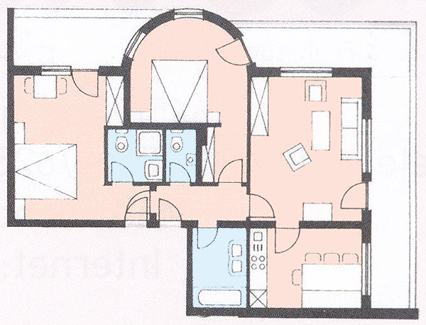 Floor plan from our apartment 3
